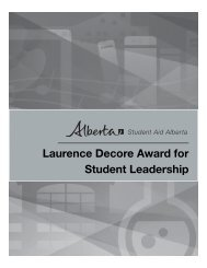 Laurence Decore Award for Student Leadership