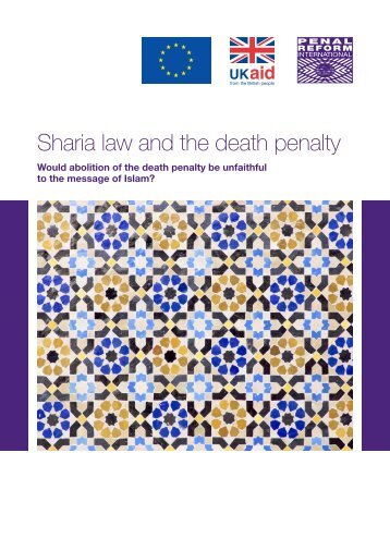 Sharia law and the death penalty
