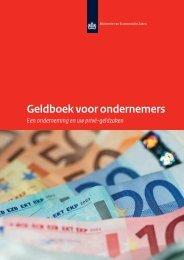 Geldboek voor ondernemers