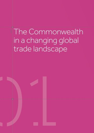The Commonwealth in a changing global trade landscape