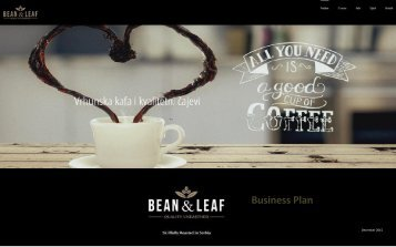 Bean and Leaf Business PLan