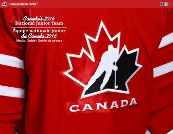 Canada's 2016 du Canada 2016