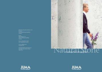 Natural Stone - Juma Natursteinwerke GmbH & Co. KG