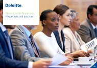 Diversity in the Boardroom Perspectives and practices
