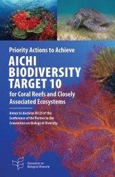 Aichi Biodiversity Target 10