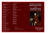 Eighteenth-Century Studies and The Eighteenth-Century Scottish Studies Society