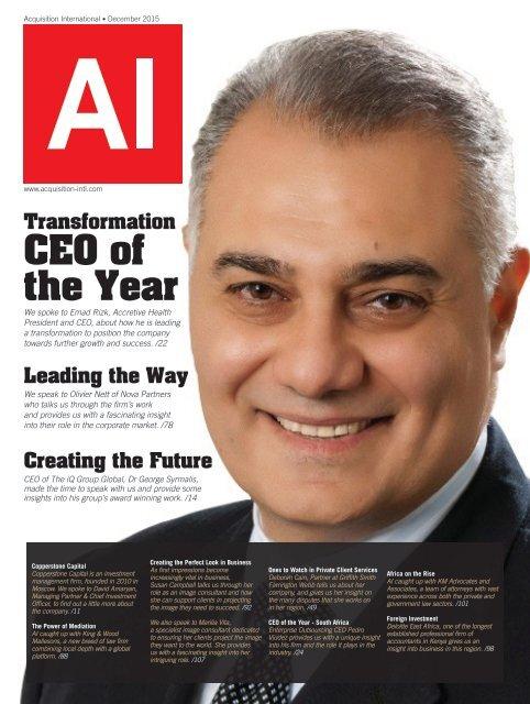 AI Magazine December 2015