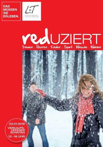 L+T reduziert Herbst & Wintermode - Prospekt 2015/16