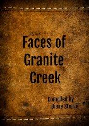 The Faces of Granite Creek
