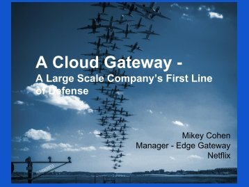 A Cloud Gateway -