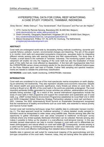 Case study of caf de coral