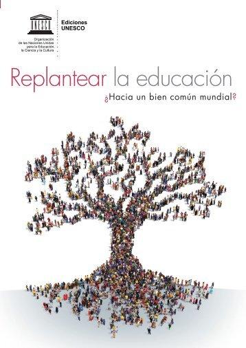 Replantear la educación