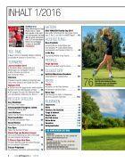 Golf Magazin Januar 2016 - Page 4