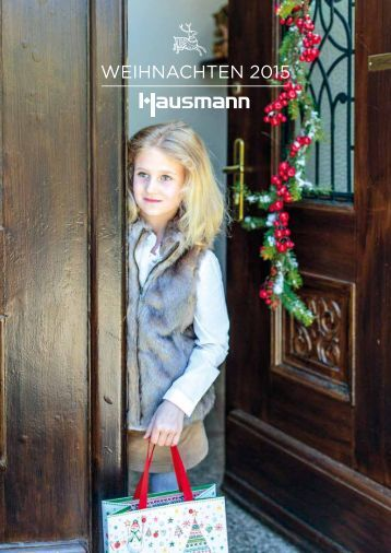 Hausmann Katalog Weihnachten 2015