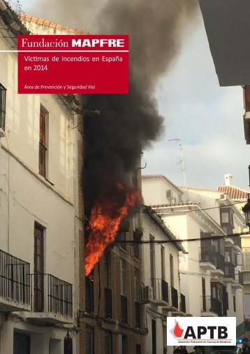Víctimas de incendios en España en 2014