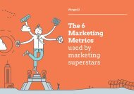 Metrics used by marketing superstars