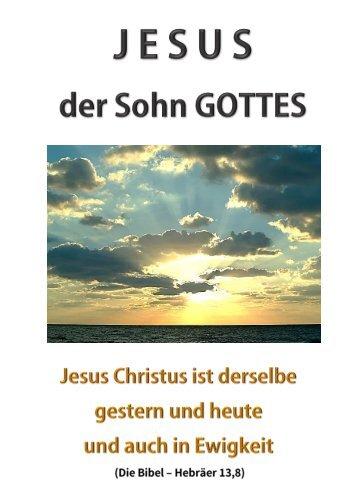 2015-HP-T-10 Jesus der Sohn Gottes