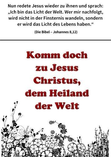 2015-HP-T-11 Komm doch zu Jesus Christus, dem Heiland der Welt