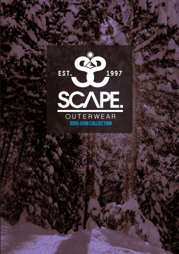 SCAPE OUTERWEAR