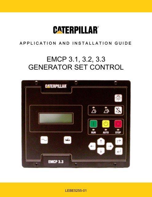 Manual EMCP 3 Nou LEBE5255 01
