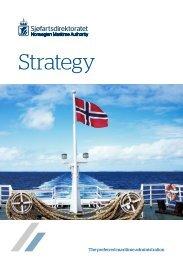 Strategybrochure - Norwegian Maritime Authority 2016 - 2020