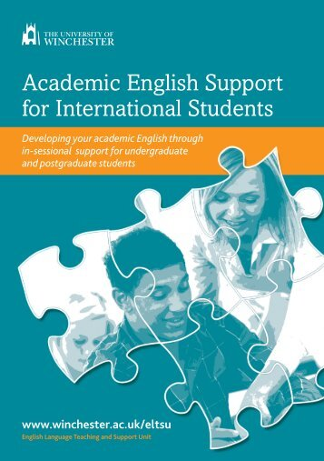 Academic English Support for International Students