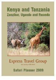 Connoisseurs safaris Kenya and Tanzania - Nairobi