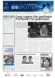 Spengler Cup Gazette EISSPLITTER 28.12.15