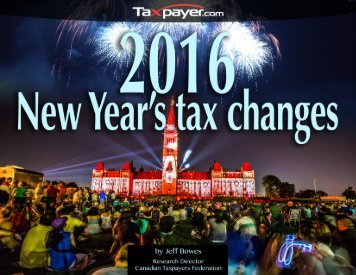 About the Canadian Taxpayers Federation