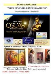 Progetto Arte giornale mensile sfogliabile online Dicembre 2015