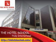 Diploma in Hotel Management in Delhi