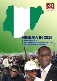 NIGERIA IN 2016