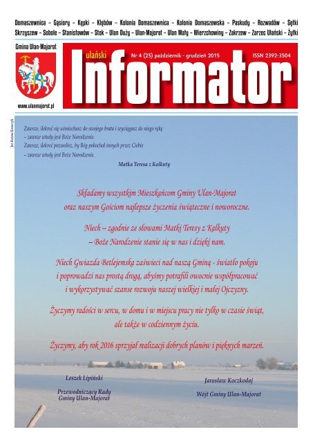 Polecane Strony - Gmina Ulan-Majorat
