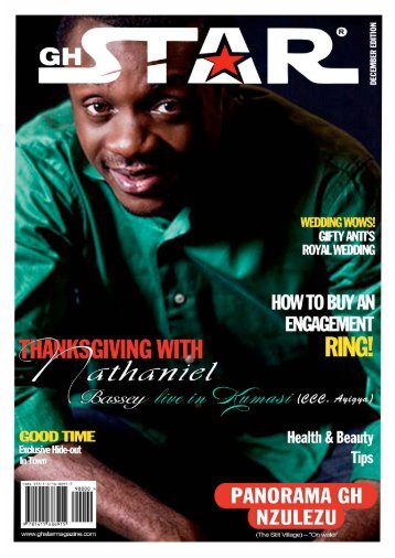 GHSTAR MAGAZINE SECOND EDITION