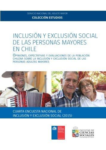 INCLUSIÓN Y EXCLUSIÓN SOCIAL DE LAS PERSONAS MAYORES EN CHILE