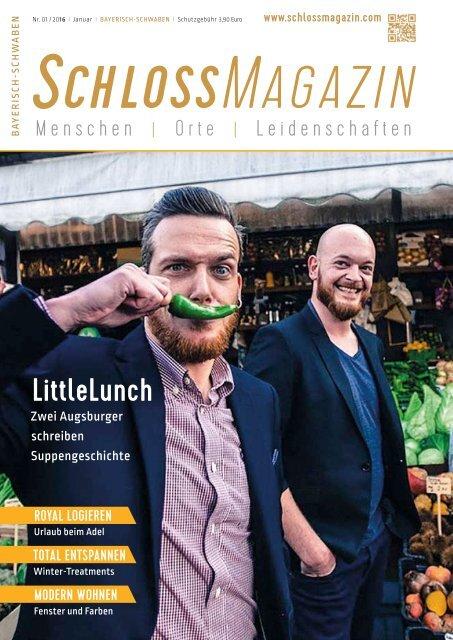 SchlossMagazin Bayerisch-Schwaben Januar 2016