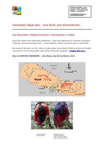 Faszination Nepal Plus