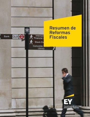 Resumen de Reformas Fiscales