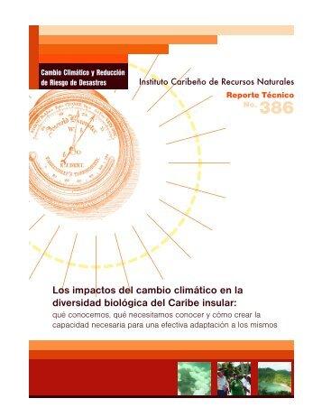 Los impactos del cambio climático en la diversidad ... - CANARI