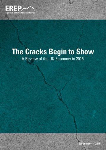 The Cracks Begin to Show A Review of the UK Economy in 2015
