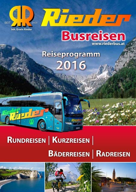 Reisekatalog 2016