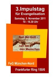 3.Impulstag - Forum Evangelisation
