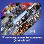 Jahrbuch der Wirtschaftsjunioren Aschaffenburg 2015