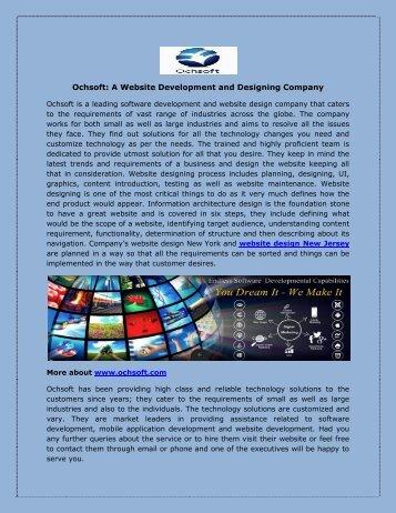 Ochsoft: A Website Development and Designing Company