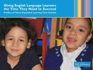 Giving English Language Learners the Time They Need to Succeed