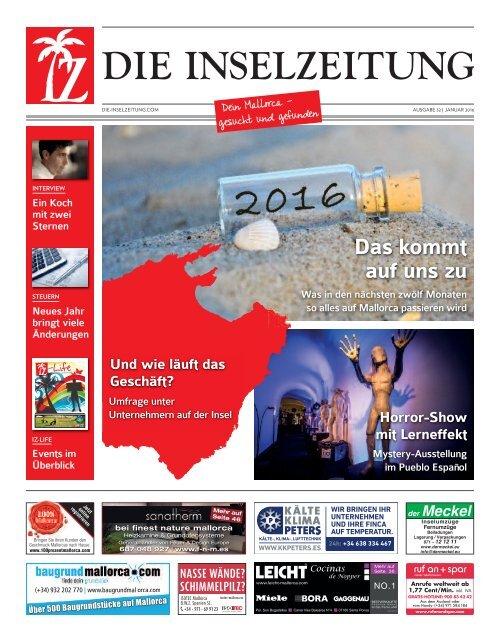 Die inselzeitung mallorca januar 2016