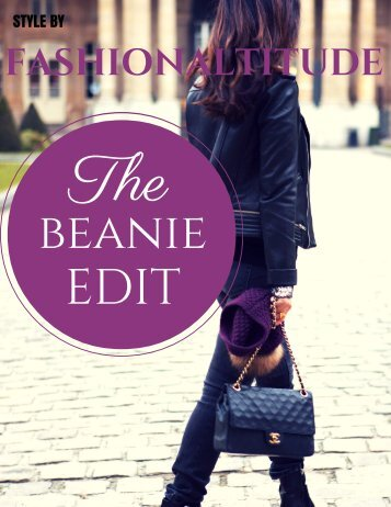 The Beanie Edit- Style by Fashionaltitude - December 2015