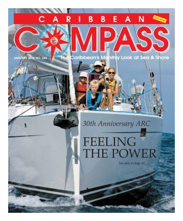 Caribbean Compass Yachting Magazine January 2016