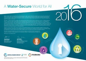 A Water-Secure World for All