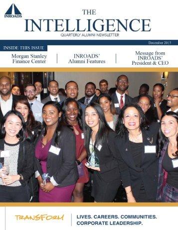 INROADS December 2015 Newsletter